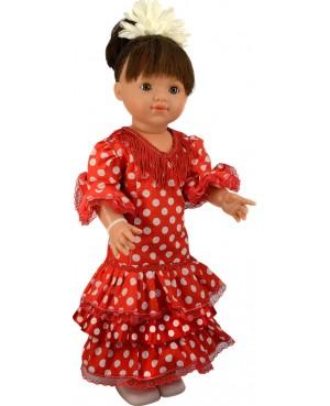 María, vestido de sevillana