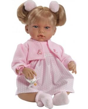 Muñeca Alba, vestido y chaqueta rosa