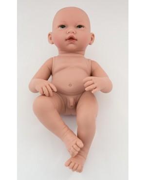 Muñeca Recién nacido desnudo. 36 cms. Sin pelo.