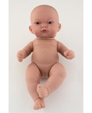Muñeca Recién nacida niña desnuda. 25 cms. Sin pelo