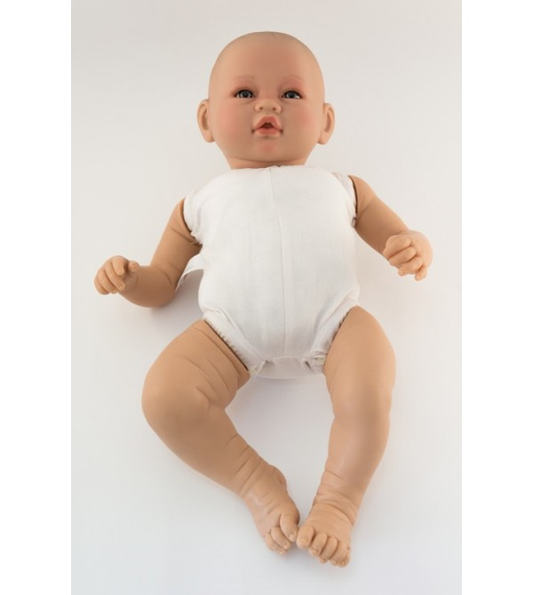 Muñeca Vera desnuda. 46 cms. Cuerpo blandito. Sin pelo