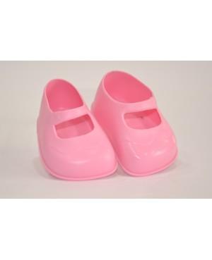 Zapatos rosas para muñeca.