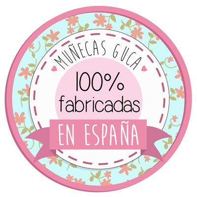 Muñecas Guca. 100% fabricadas en España