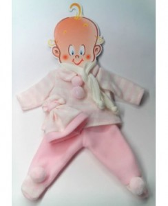pantalon jersey y gorro rosa