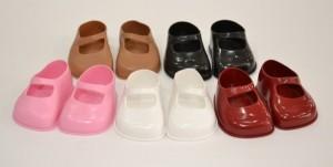 zapatos de munecos de todos los colores
